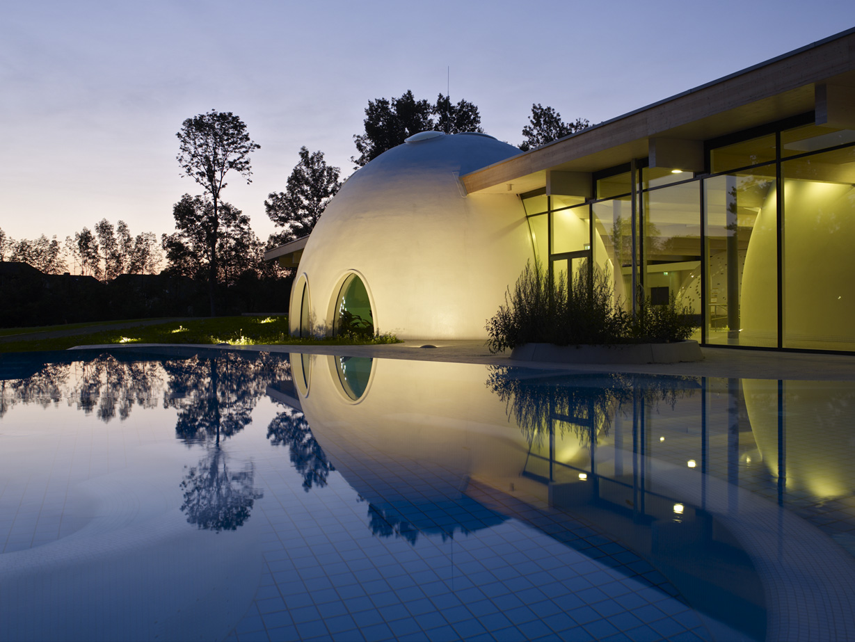 Bad Aibling Spa Resort Germany by Behnisch Architects