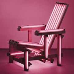 Neon Pink Chair Pool Chairs Lowes Ball Lights