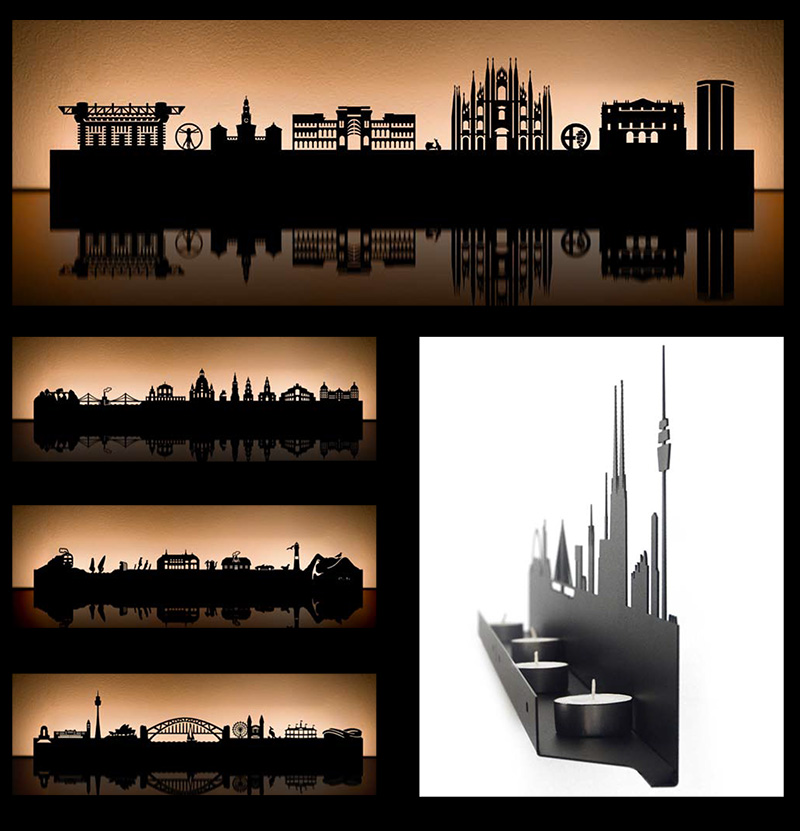 kitchen lighting melbourne granite countertops city skyline tea light holders by radius