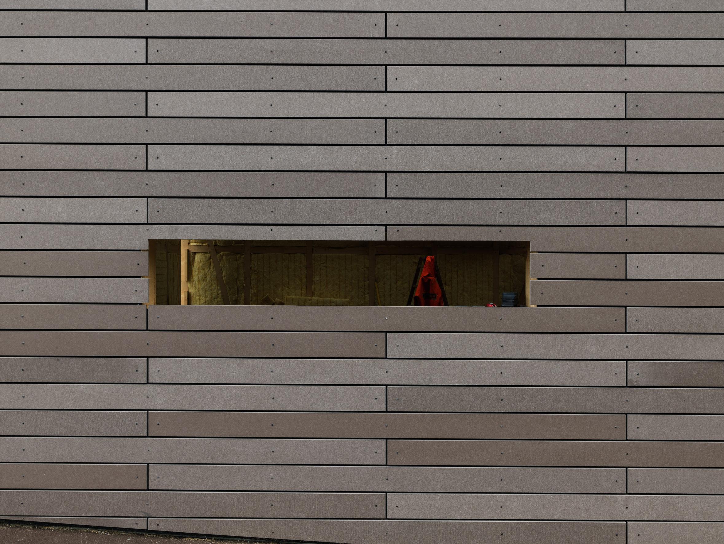 concrete slat wall
