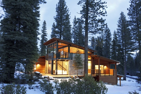 Cozy Modern Mountain Retreat In Lake Tahoe By Sagemodern