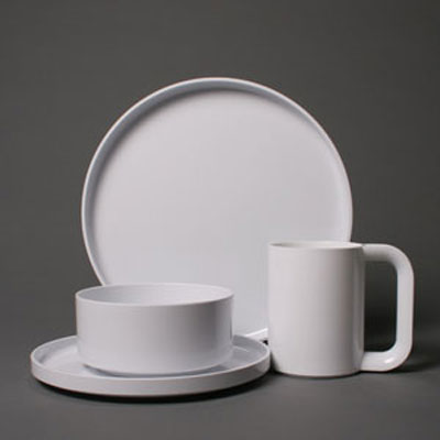 chair mat bamboo double with pull out bed dinnerware by massimo vignelli for heller