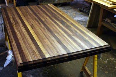FSC Butcher Block Table Top