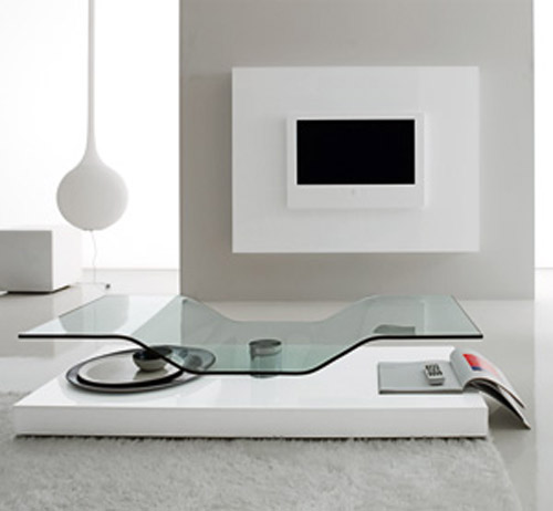 GlassTopped Coffee Tables From COMPAR