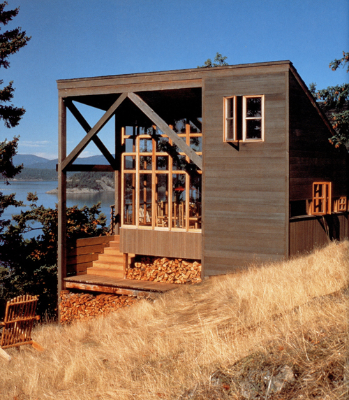 Gorton  Bounds Cabin by The Miller Hull Partnership