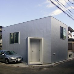 Chair Mat Bamboo Stand Test House In Komae By Go Hasegawa And Associates