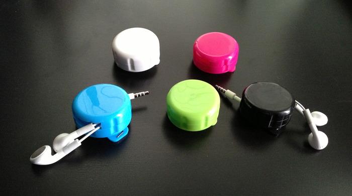 iCoil headphone cord organizer