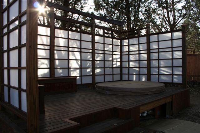 Japanese Sliding Doors from Shoji Woodworking