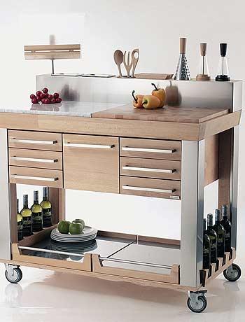 Kitchen Cart From Legnoart