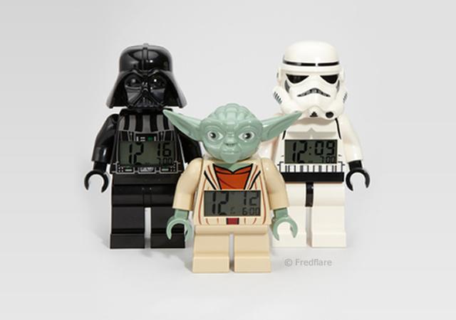 Lego Star Wars Alarm Clock