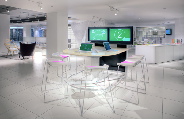 MediaScape collaboration furniture by Steelcase