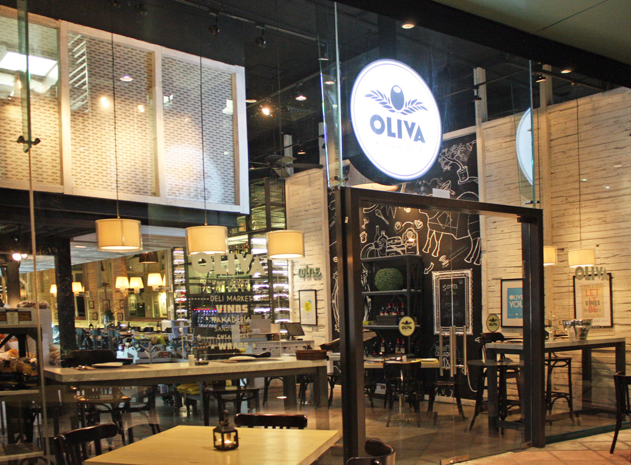 Oliva DeliRestaurant and Wine Shop by Bou Architects