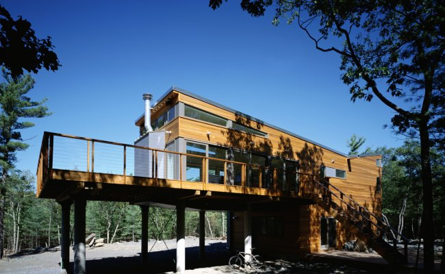 Prefab Mountain Retreat By Resolution 4 Architecture