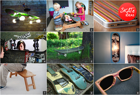 Recycled Skateboard Products