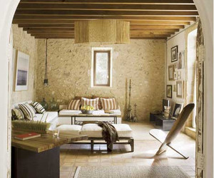 arts and crafts kitchen lighting area rugs walmart renovated stone farmhouse in mallorca, spain