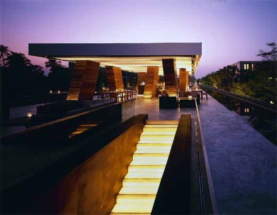 Resort design by Duangrit Bunnag Architects