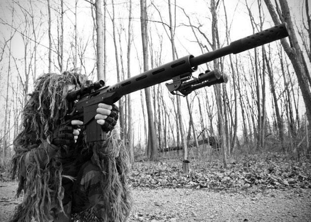 Sniper Paintball Gun  SAR12