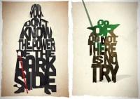Star Wars Typography Prints