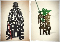 Star Wars Typography Prints | Pete Ware