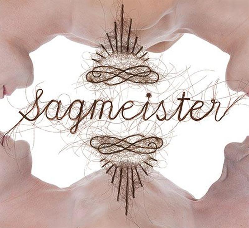 Stefan Sagmeister Uses Hair As Typography