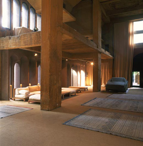The Cement Factory Loft in Barcelona by Ricardo Bofill