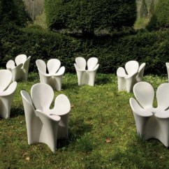 Bamboo Chair Mat White Wicker Chairs Outdoor Unusual Clover Garden By Ron Arad