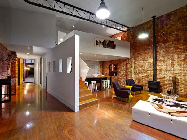 Warehouse Conversion Becomes The TwoInOne House