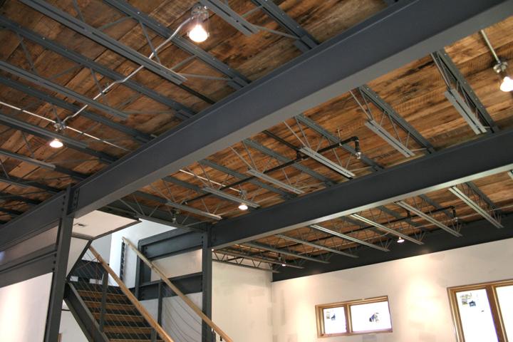 Wood  Steel Floor System 3030 EcoSteel House