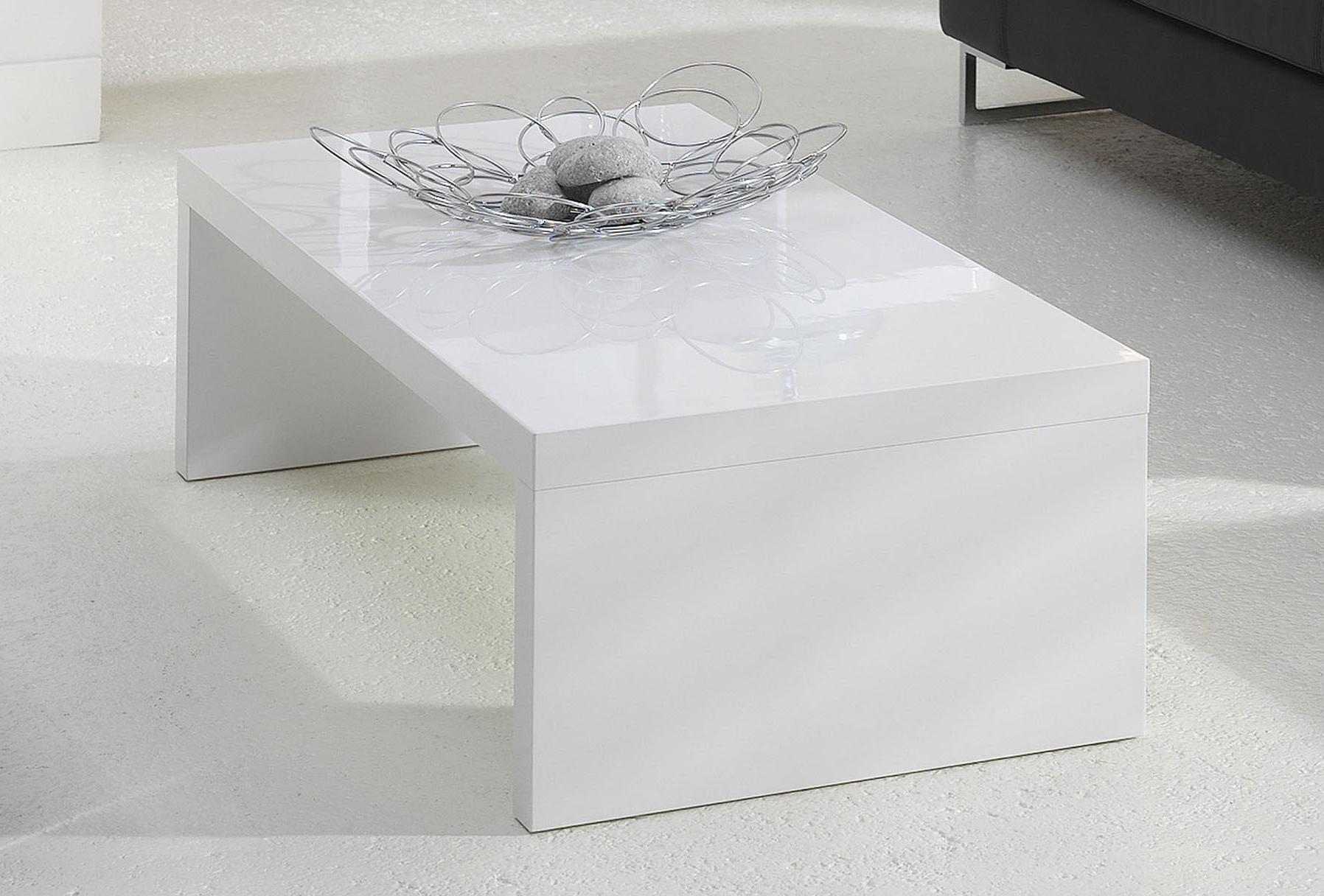 Table Basse Blanc Laqué  Ma Table Basse