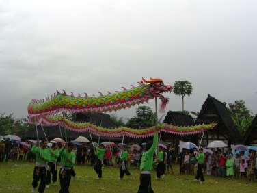 Dragon dance (originally from Chinese culture)