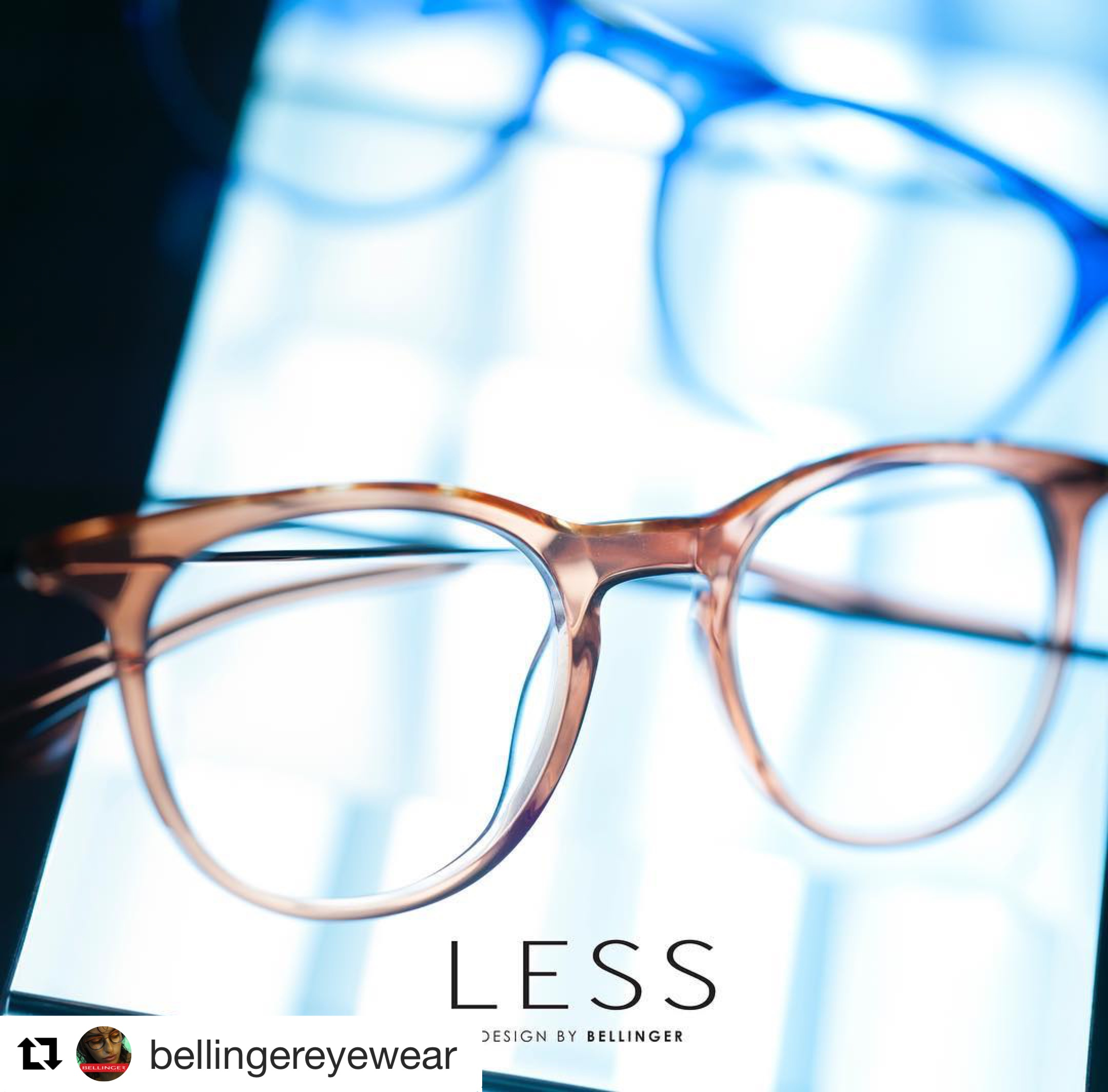 Canadian Debut of LESS eyewear by Bellinger House