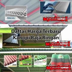 Harga Baja Ringan 2017 Depok Daftar Kanopi Murah Jakarta Bogor