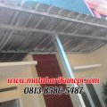 Hasil Pemasangan Kanopi Baja Ringan Atap Spandek Standar di Griya Aviva, Jl. Pangrango 4, Sukahati, Cibinong, Bogor