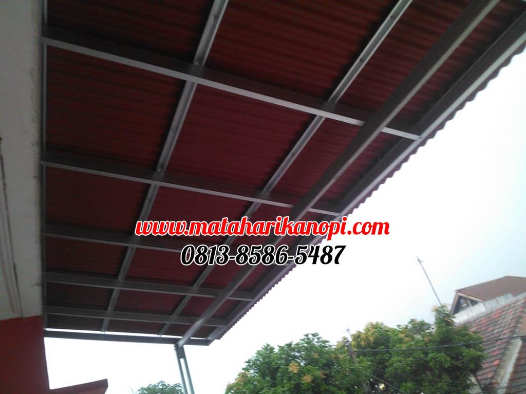 024.-kanopi-baja-ringan-atap-go-green-standar-di-limus-pratama-cileungsi-bogor-1-ok Hasil Pemasangan Kanopi Baja Ringan Atap Go Green Merah Paket Standar di Perum Limus Pratama, Cileungsi, Bogor
