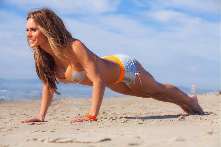 Gym trening na smukłe pośladki