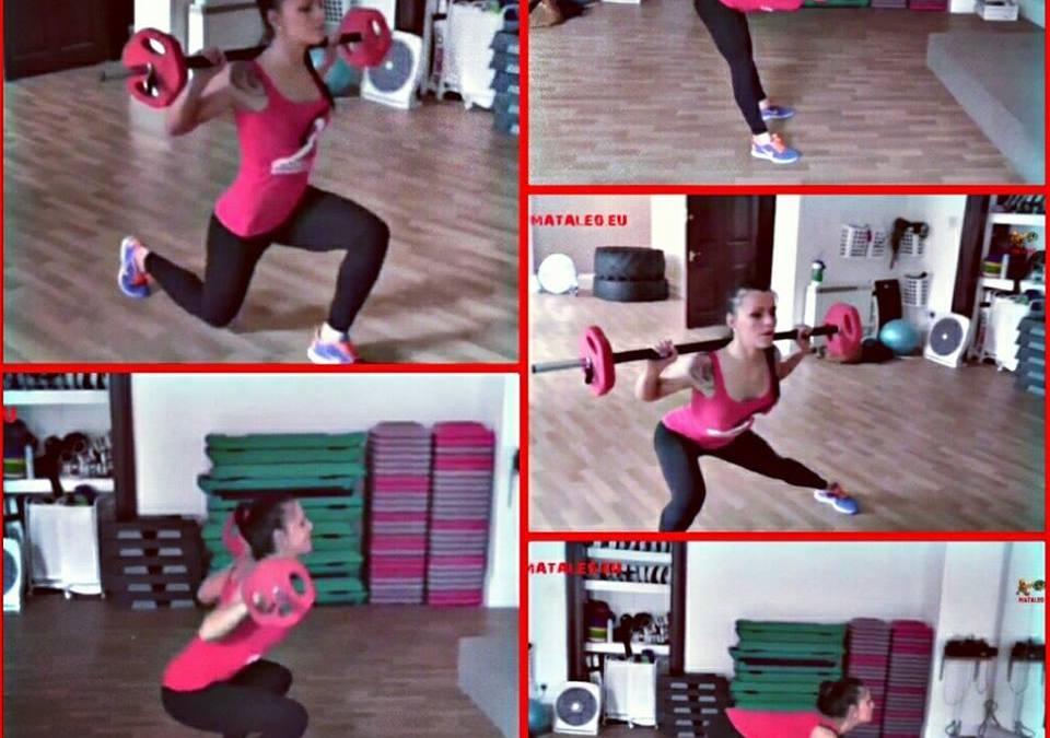 Zestaw ćwiczeń ze sztangą dla kobiet