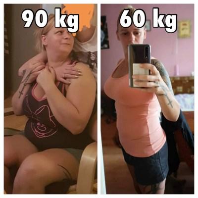 metamorfoza Gosia Klos, -30 kg