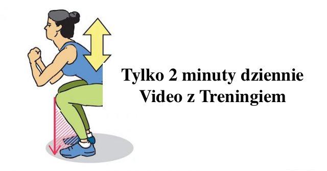 Ćwiczenia w 2 minuty raz Dziennie – Video