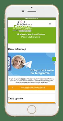 Telegram kocham Fitness