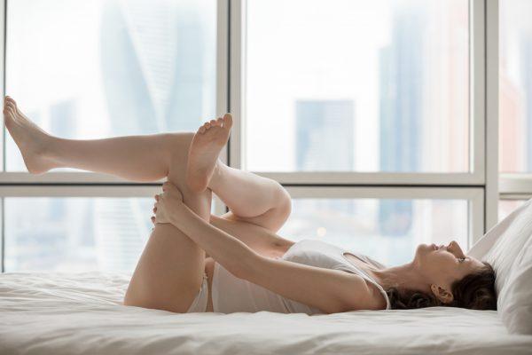 Trening na leżąco dla kobiet