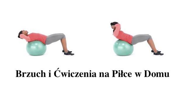 Brzuch – Ćwiczenia na piłce – Poprawnie Wykonanie – Video