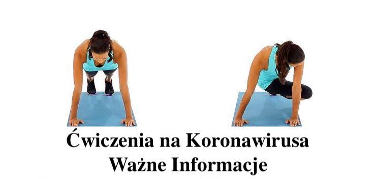 Ćwiczenie na Koronawirusa  – Video – Gosia Klos