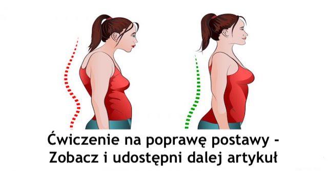 Ćwiczenie aby  poprawić postawę i wzmocnić kręgosłup – Gosia Klos