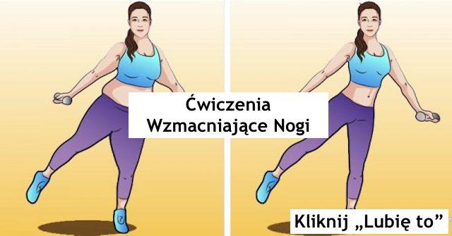 Ćwiczenia wzmacniające nogi – Gosia Klos