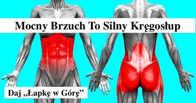 Mocny Brzuch to Mocny Kręgosłup – 3 Ćwiczenia – Gosia Klos