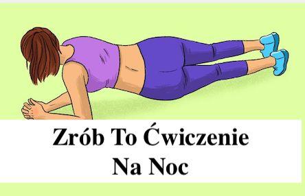 Plank – Zrób to Ćwiczenie na Noc – Zobaczysz co się Stanie – Gosia Klos