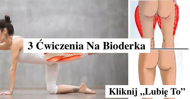 3 Ćwiczenia na Bioderka – Nowe Video
