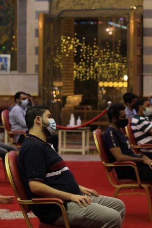 ياسين الجمري - التغطية المصورة لمحاضرة ليلة العيد 1442 هـ 6