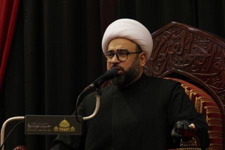 ياسين الجمري - التغطية المصورة لمحاضرة ليلة 21 رمضان 1442 هـ  4