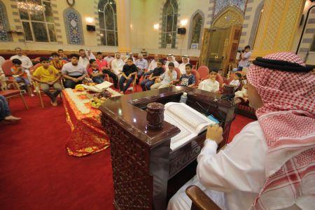 الاستاذ عبدالحسين سلمان - التغطية المصورة للختمة القرانية ليلة 30 من شهر رمضان – 1440 هـ 11
